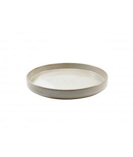 Terra Porcelain Grey Presentation Plate 26cm