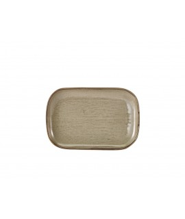 Terra Porcelain Grey Rectangular Plate 29 x 19.5cm