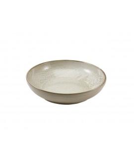 Terra Porcelain Grey Coupe Bowl 27.5cm