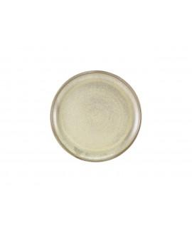 Terra Porcelain Matt Grey Coupe Plate 27.5cm