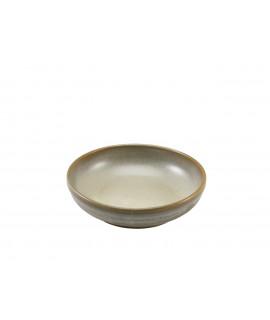 Terra Porcelain Matt Grey Coupe Bowl 23cm