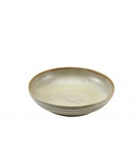 Terra Porcelain Matt Grey Coupe Bowl 27.5cm