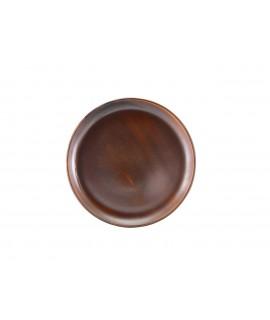 Terra Porcelain Rustic Copper Coupe Plate 27.5cm