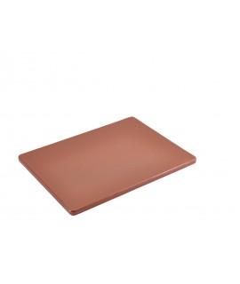 """Brown Poly Cutting Board 12 x 9 x 0.5"""""""