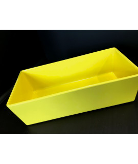 "TableCraft straight sided bowl, 10""x5""x3"", Melamine Yellow"