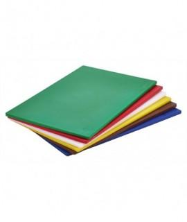 """Blue Poly Cutting Board 18 x 12 x 0.5"""""""