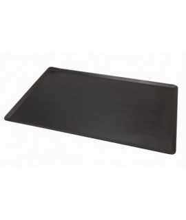 Genware Black Iron Baking Sheet 60X40cm