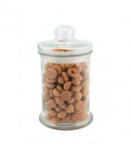 Genware Biscotti Jar Medium 1.3L