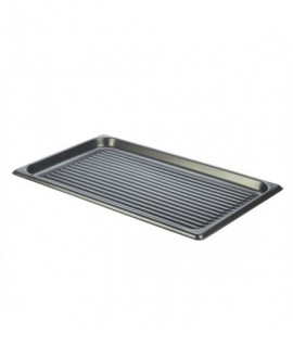 Non Stick Aluminium Ridged Baking Sheet GN FULL SIZE