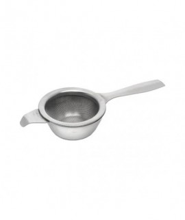 "Stainless Steel Teastrainer & Bowl 2""Wide 5.1/2"" Long"