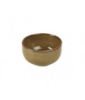 Terra Stoneware Rustic Brown Round Bowl 11.5cm