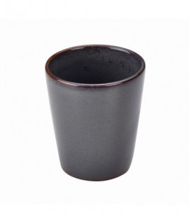 Terra Stoneware Rustic Blue Conical Cup 10cm