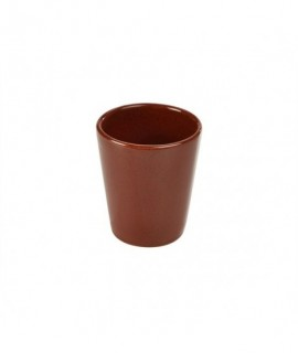 Terra Stoneware Rustic Red Conical Cup 10cm