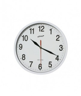 Wall Clock White 24cm Dia