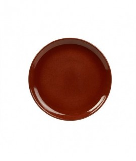 Terra Stoneware Rustic Red Coupe Plate 27.5cm