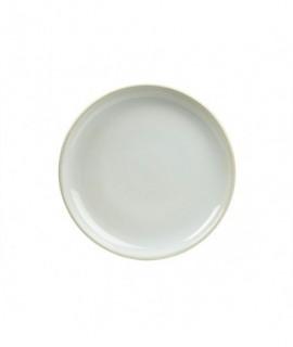Terra Stoneware Rustic White Coupe Plate 19cm