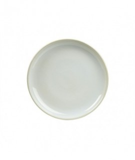 Terra Stoneware Rustic White Coupe Plate 24cm