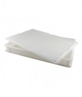 Dough Box 60X40X7.5cm 14Lt Cap White