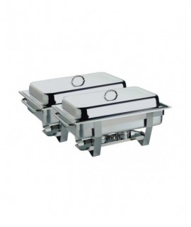 Twin Pack FULL SIZE Economy Chafing Dish