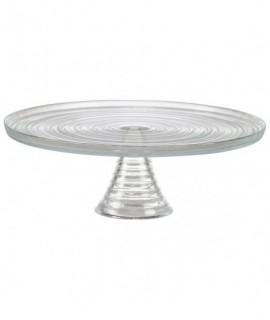 Glass Cake Stand 32 () x 11cm (H)