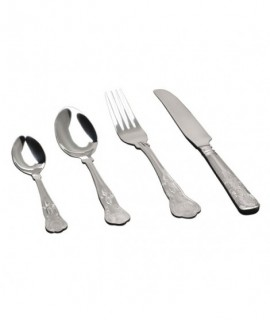 Dessert Spoon Kings Pattern (Dozen)