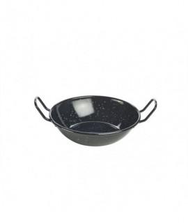 Black Enamel Dish 16cm