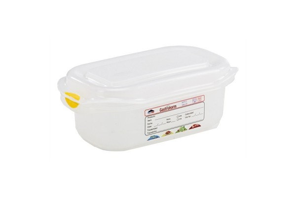 GN Storage Container 1/9 65mm Deep 0.6L