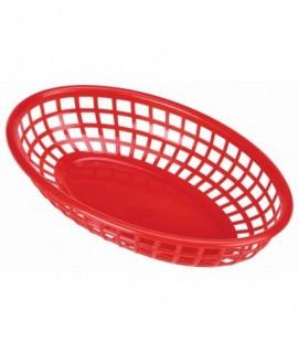 Fast Food Basket Red 23.5 x 15.4cm