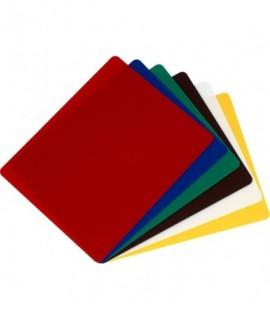 6 Colour Flexible Chopping Board Set