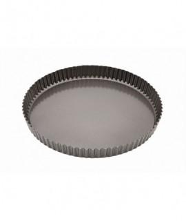Carbon Steel Non-Stick Fluted Quiche Tin 29cm