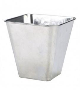 Galvanised Steel Flared Serving Tub 10 x 10 x 10cm