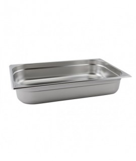 Stainless Steel Gastronorm Pan FULL SIZE - 65mm Deep