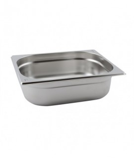 Stainless Steel Gastronorm Pan 1/2 - 40mm Deep