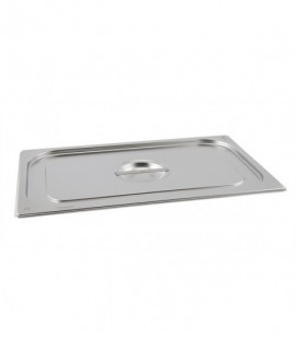 Stainless Steel Gastronorm Pan Lid 1/2