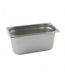 Stainless Steel Gastronorm Pan 1/3 - 100mm Deep