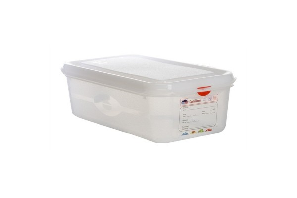GN Storage Container 1/3 100mm Deep 4L