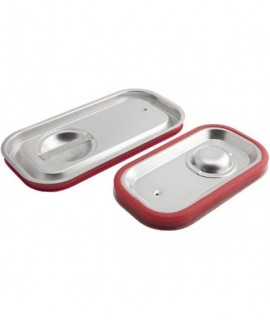 Stainless Steel Gastronorm Sealing Pan Lid 1/4