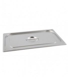 Stainless Steel Gastronorm Pan Lid 1/6