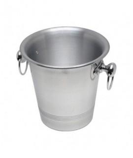 Aluminium Wine Bucket With Ring Hdls  3.25Ltr