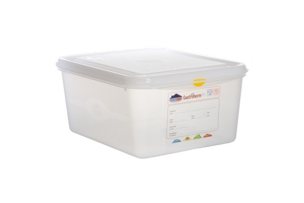 GN Storage Container 1/2 150mm Deep 10L