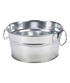 Galvanised Steel Serving Bucket 15 x 8cm