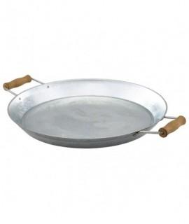 "Galvanised Steel Platter 14""/35.5cm"