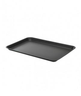Galvanised Steel Tray 37x26.5x2cm Matt Black