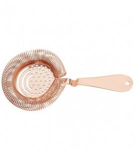 Copper Sprung Premium Julep Strainer