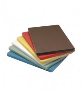 "High Density Cutting Board 18X12X0.5"" Yellow"