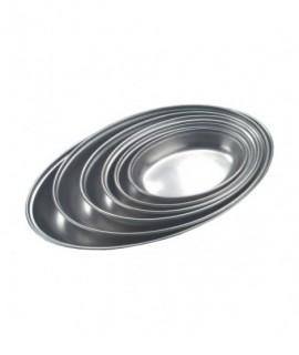 "Stainless Steel Oval Veg Dish 14"""