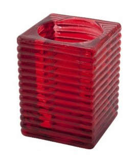 Highlight' Candle Holder Red (6Pcs)