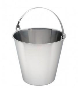 Swedish Stainless Steel  Bucket 10 Litre Graduated