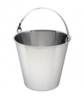 Swedish Stainless Steel  Bucket 15 Litre Graduated