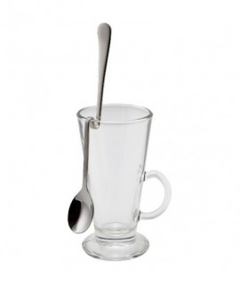 "Hanging Latte Spoon 8"" 18/8 Stainless Steel (Dozen)"